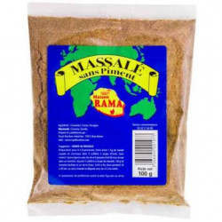 MASSALE SANS PIMENT 100G